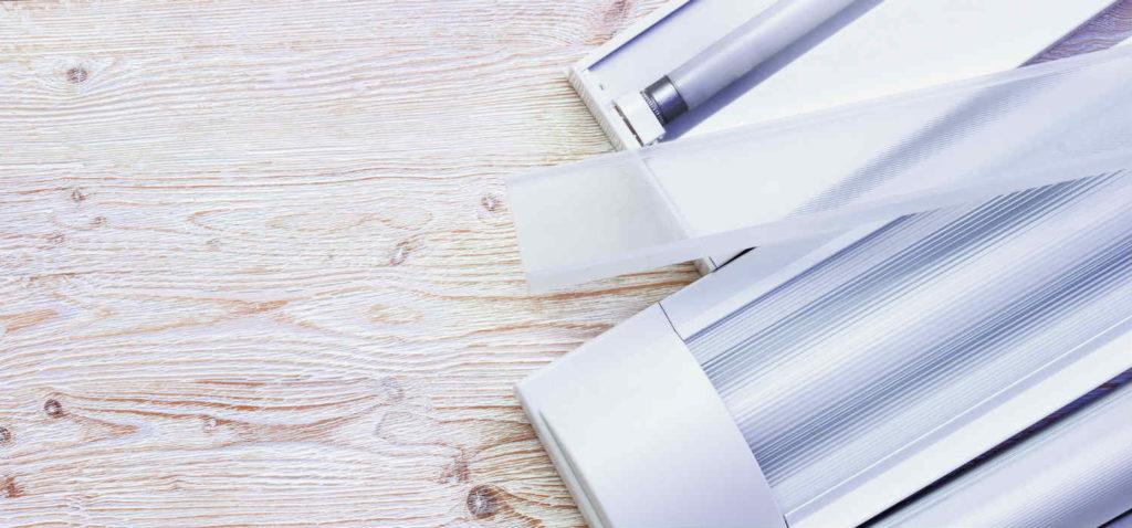 Sostituire i tubi fluorescenti con tubi a LED