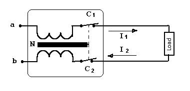 Schéma d'un disjoncteur différentiel