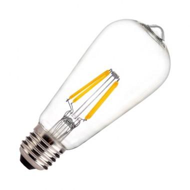 led lampe e27 st64 5 5w filament zitrone dimmbar ledkia. Black Bedroom Furniture Sets. Home Design Ideas
