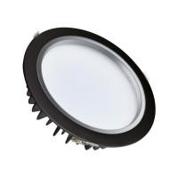 LED Einbaustrahler Downlight Samsung 30W 120lm/W Schwarz