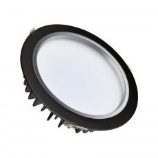 40W LED-Einbauleuchte Samsung 120lm/W Schwarz