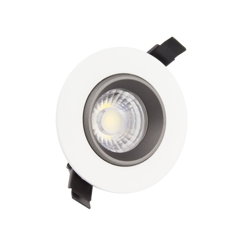led strahler downlight cob schwenkbar 360 rund 18w design. Black Bedroom Furniture Sets. Home Design Ideas