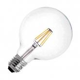 LED-Lampe E27 G125 6W Supreme Filament Dimmbar