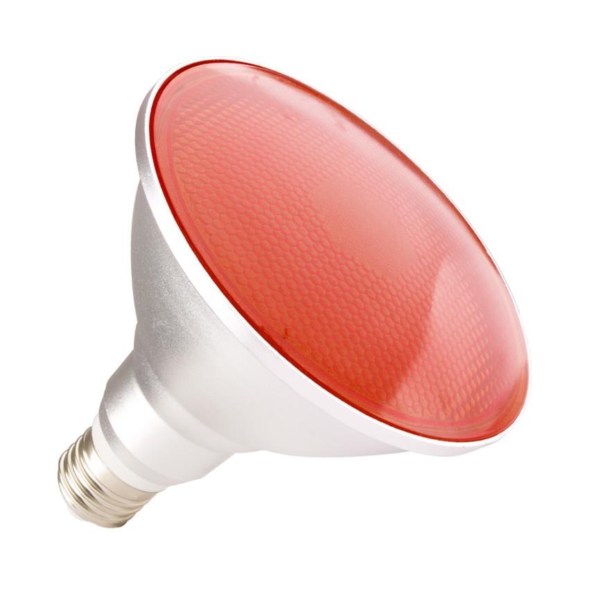 led lampe e27 par38 15w waterproof ip65 rotes licht ledkia deutschland. Black Bedroom Furniture Sets. Home Design Ideas