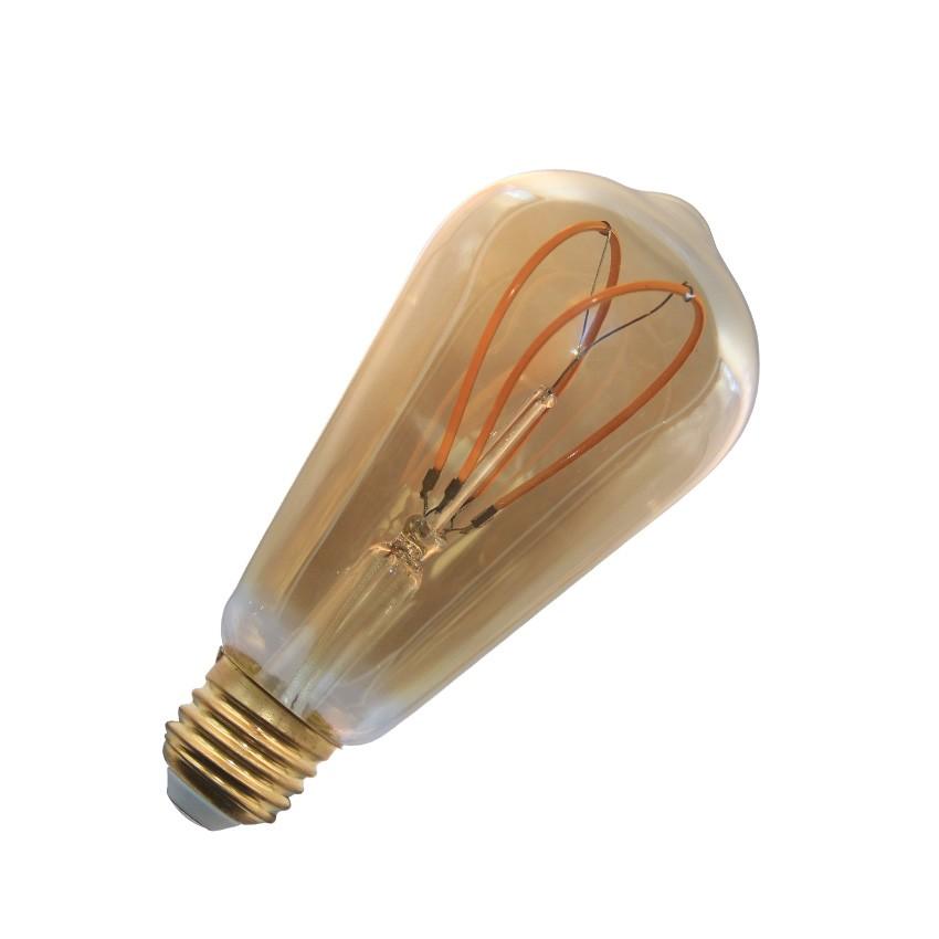 led lampe e27 filament dimmbar gold big lemon st64 4w. Black Bedroom Furniture Sets. Home Design Ideas