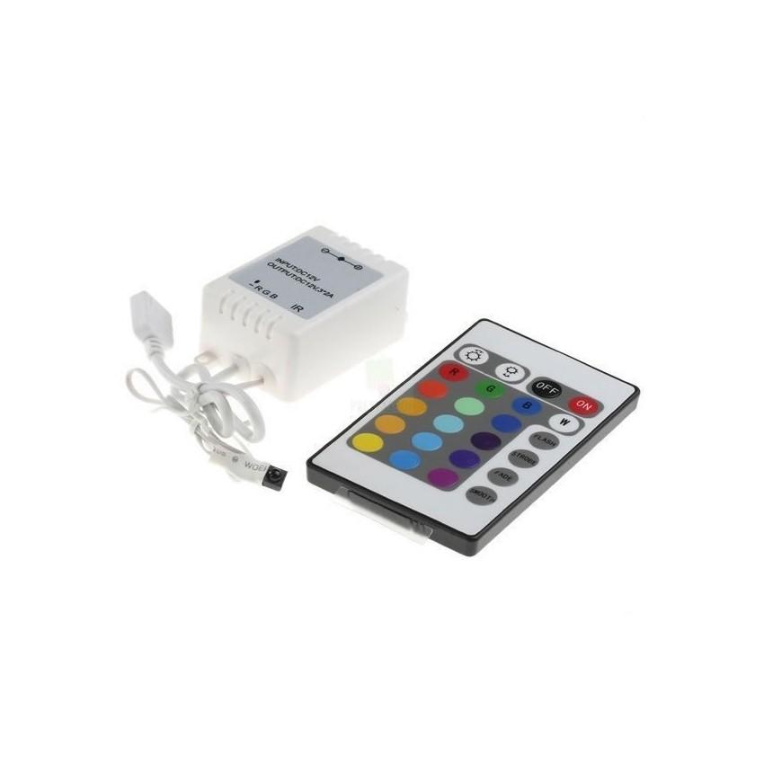 controller led strip rgb 12v ir fernbedienung dimmer mit. Black Bedroom Furniture Sets. Home Design Ideas