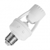 Präsenzmelder PIR für E27 Leuchtmittel