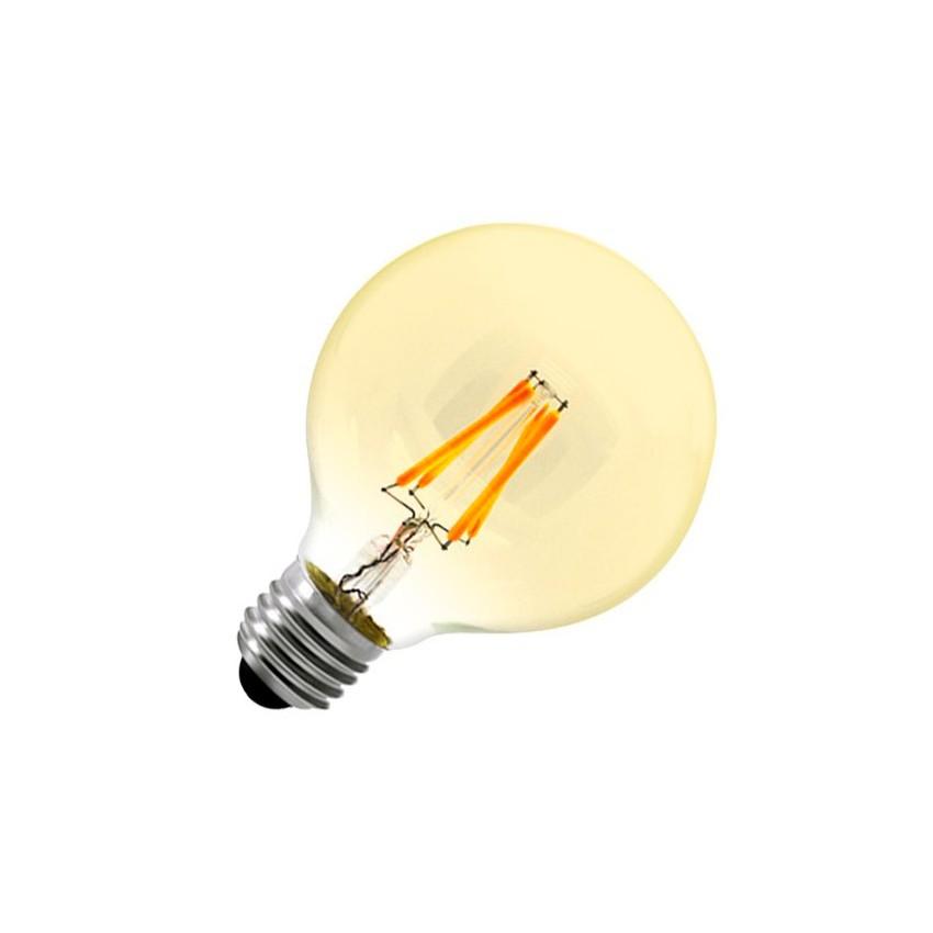 led lampe e27 g80 6w filament goldkugel dimmbar ledkia. Black Bedroom Furniture Sets. Home Design Ideas
