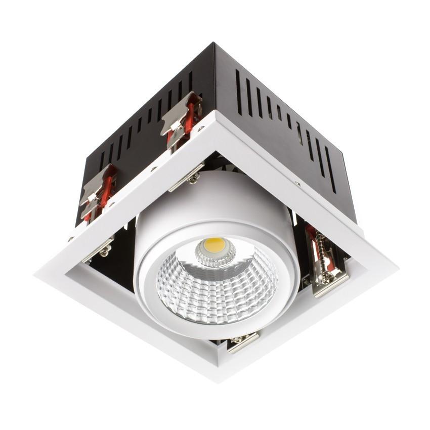 led strahler grill schwenkbar cob 30w ledkia deutschland. Black Bedroom Furniture Sets. Home Design Ideas