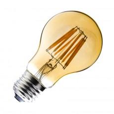 Bombilla LED E27 Filamento Classic Gold 6W