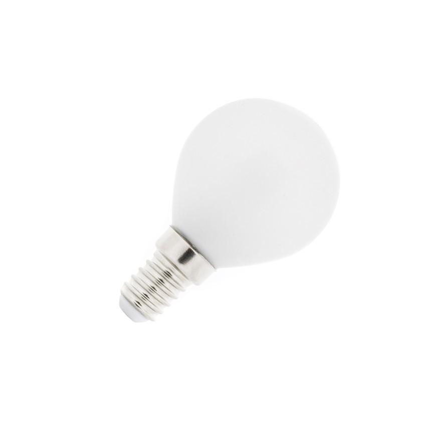 Led lampe sph re e14 4w glass ledkia deutschland - Lampe e14 led ...