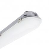 Feuchtraum LED-Wannenleuchte 1200mm aus Aluminium  40W