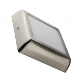 LED Deckenleuchte Eckiges Design 12W Silber