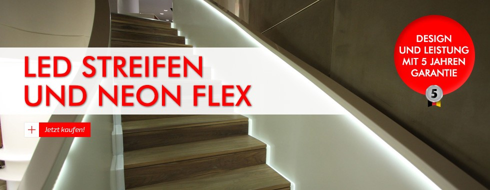 LED Streifen und neon flex