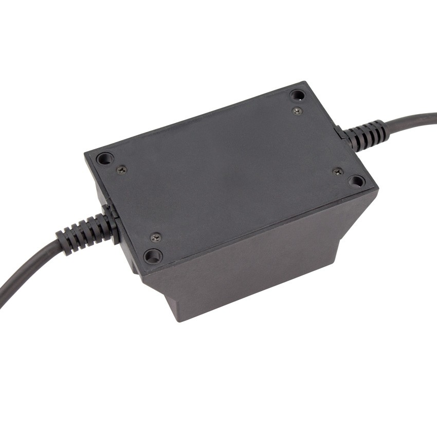 Transformateur 12vac 80w ip68 ledkia france for Transformateur 12v piscine