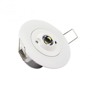 Spot Downlight de Secours LED 3W 30°