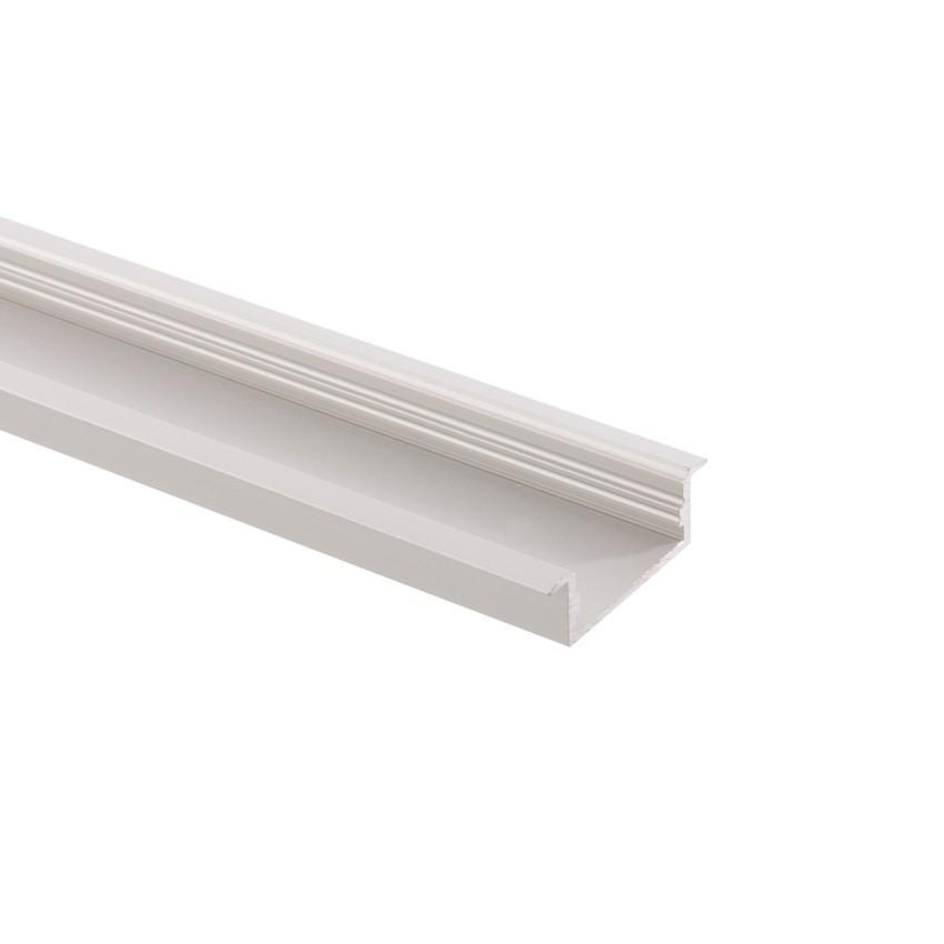 Profil en aluminium 1m pour rubans 120 led m a51 ledkia - Profile pour ruban led ...