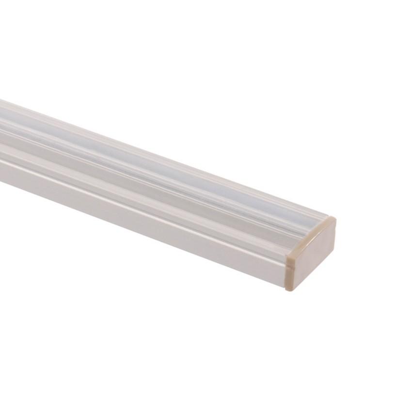 profil en aluminium 1m pour rubans led 037 a50 ledkia france. Black Bedroom Furniture Sets. Home Design Ideas
