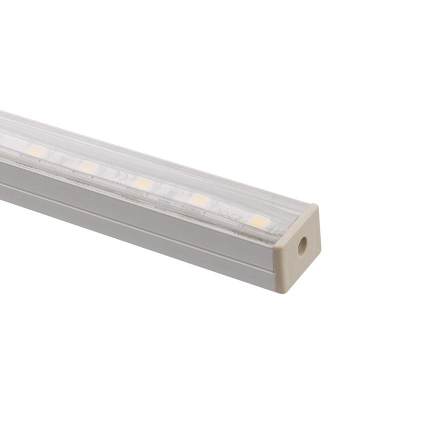 profil en aluminium 1m pour rubans led 220v rgb ledkia france. Black Bedroom Furniture Sets. Home Design Ideas
