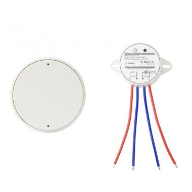 Interrupteur Poussoir Sans Fil + Récepteur