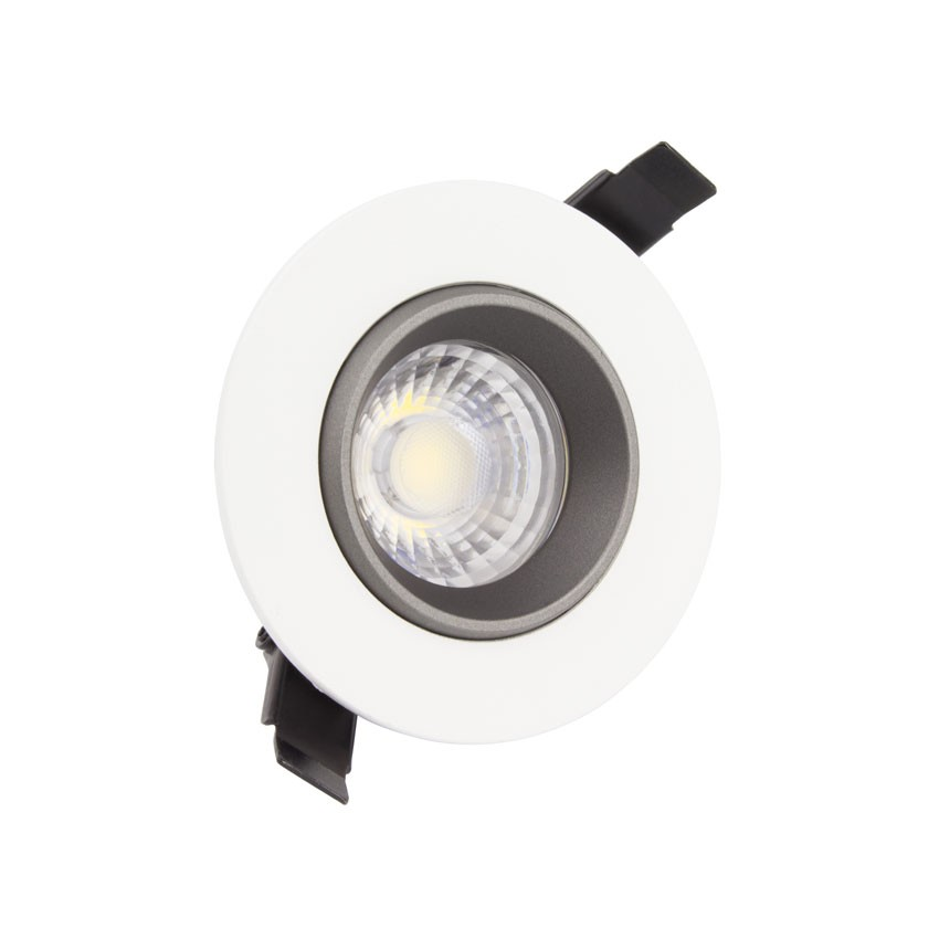 spot led downlight cob orientable 360 rond 7w design ledkia france. Black Bedroom Furniture Sets. Home Design Ideas