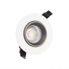 Foco Downlight LED COB Direccionable 360º Circular 18W Design