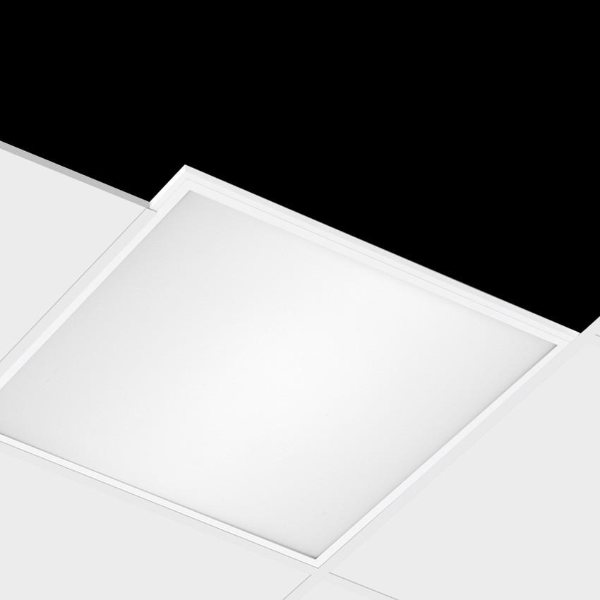 Panneau led slim 60x60cm 40w 5200lm high lumen ledkia france for Panneau led exterieur