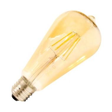Ampoule LED E27 Dimmable Filament Lemon Gold ST64 5.5W