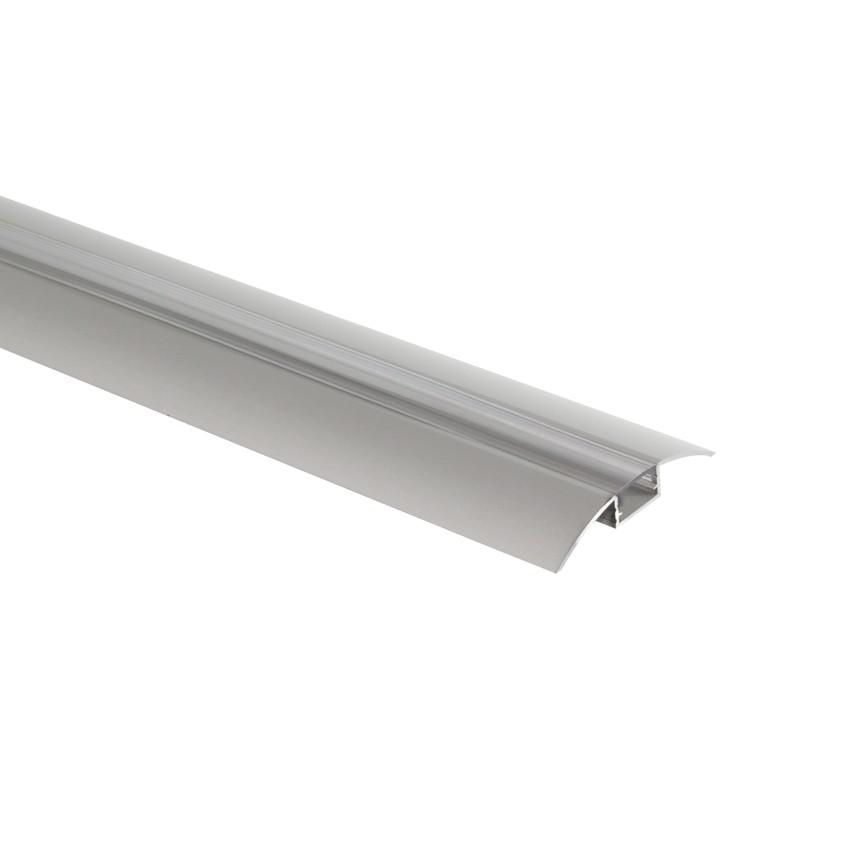 Profil en aluminium 1m pour rubans led 12v p7 ledkia france - Profile pour ruban led ...
