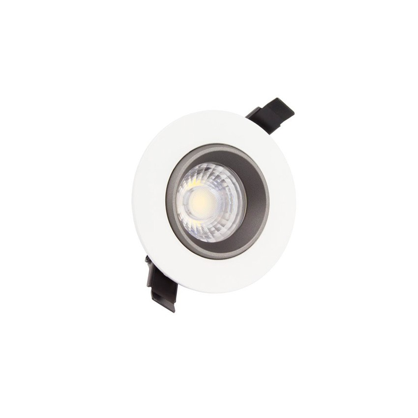 spot led downlight cob orientable 360 rond 3w design ledkia france. Black Bedroom Furniture Sets. Home Design Ideas