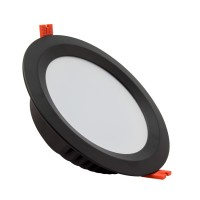 Downlight LED Samsung 120lm/W Aéro 30W Noir