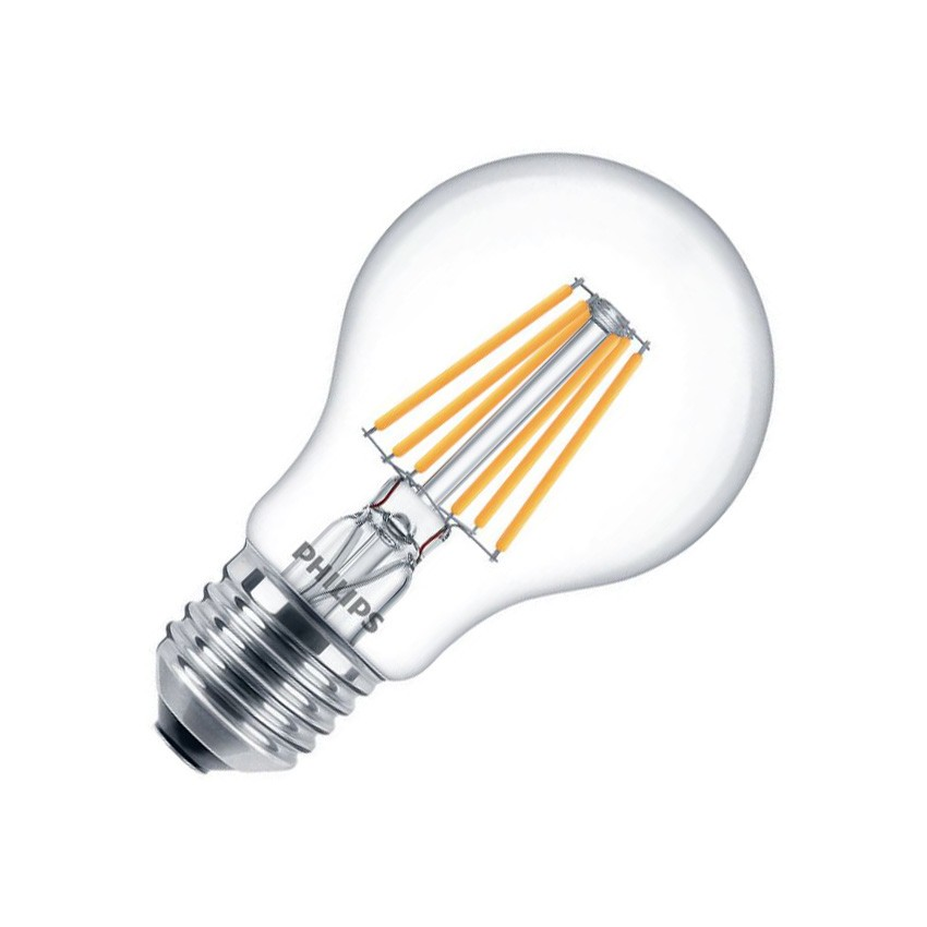 Ampoule led e27 dimmable filament philips cla a60 4 5w ledkia france - Ampoule led dimmable ...