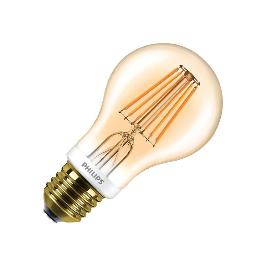ampoule led e27 a60 philips dimmable filament cla 7 5w. Black Bedroom Furniture Sets. Home Design Ideas