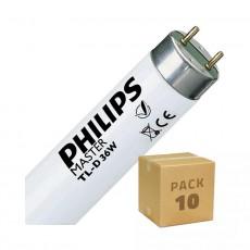 Tube Fluorescent Philips T8 1200mm Connexion des 2 Côtés 36W