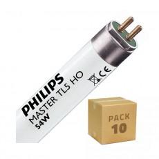 Tubo Fluorescente Philips T5 HO 1200mm Conexión dos Laterales 54W