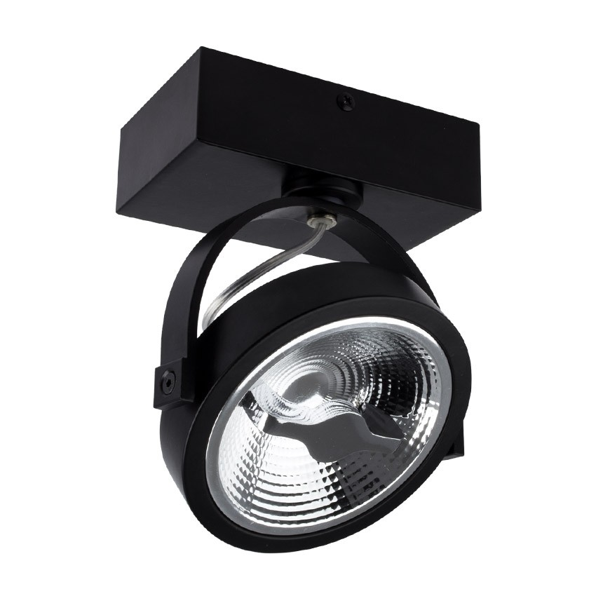 spot led cree en saillie orientable ar111 15w dimmable. Black Bedroom Furniture Sets. Home Design Ideas