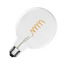 Bombilla LED E27 Regulable Filamento Orbit G125 4W
