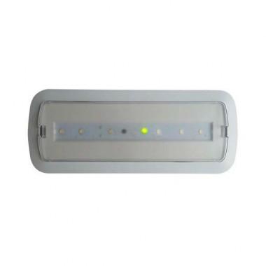 Balise de secours LED 3W + Kit Plafond