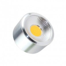 Plafonnier LED Style COB 12W Argent