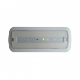 Balise de secours LED 3W + Kit Plafond & Éclairage Permanent