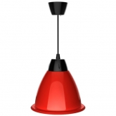 Cloche LED Rouge Alabama 35W