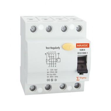 interrupteur diff rentiel industriel 4p 300ma clase ac 6ka. Black Bedroom Furniture Sets. Home Design Ideas