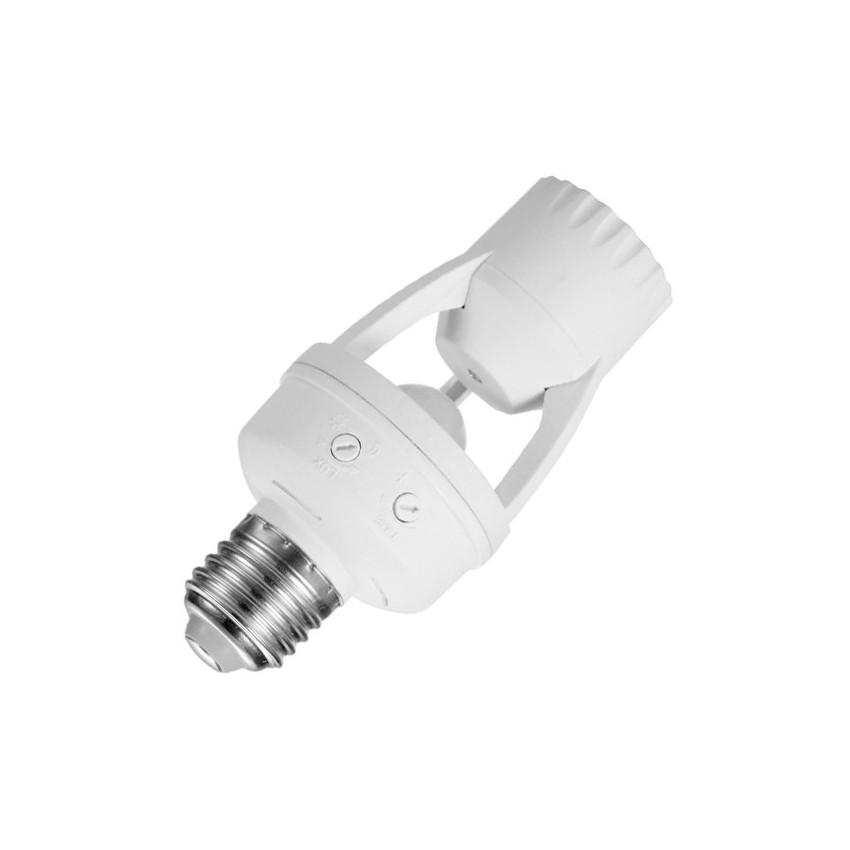 D tecteur de pr sence pir pour ampoules e27 ledkia france for Detecteur de presence pour eclairage exterieur