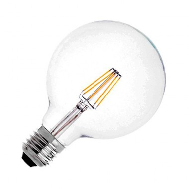 Ampoule LED E27 Dimmable Filament Planet G95 6W