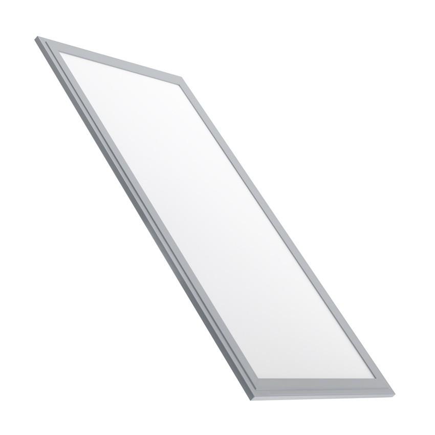 Panneau led slim 60x30cm 32w cadre argent ledkia france - Led panel kuchenruckwand ...