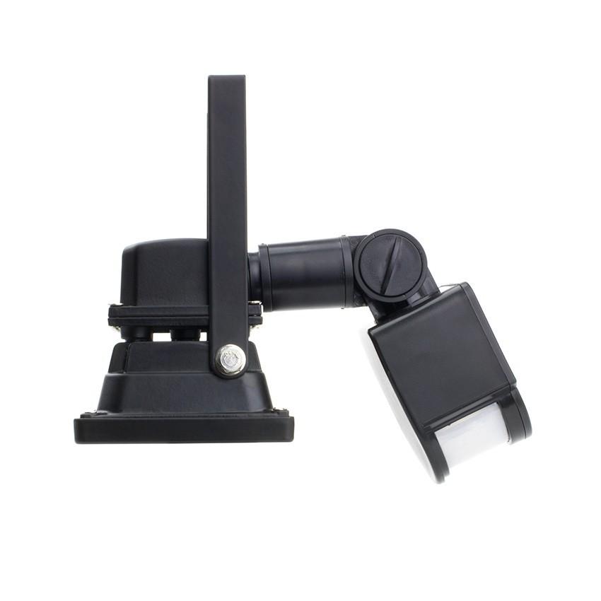 projecteur led smd avec d tecteur 10w 120lm w ledkia france. Black Bedroom Furniture Sets. Home Design Ideas