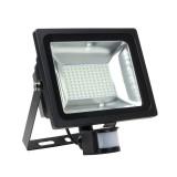 Projecteur LED SMD avec Détecteur 50W 120lm/W