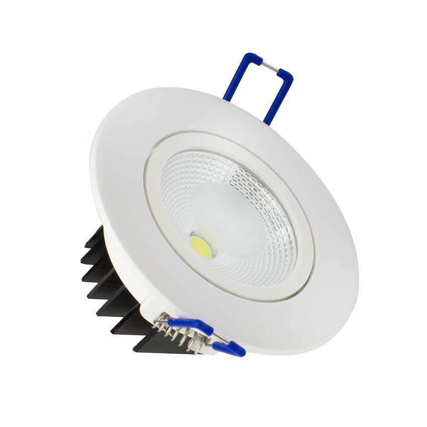 spot led downlight orientable cob 5w ledkia france. Black Bedroom Furniture Sets. Home Design Ideas