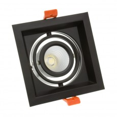 Foco Madison LED Direccionable COB 30W Black