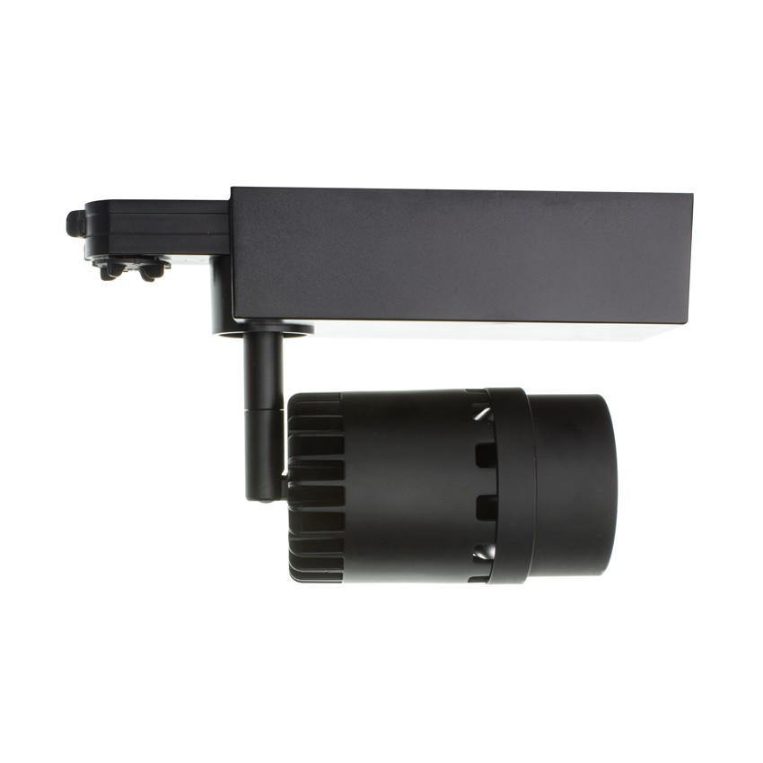 spot led cree cannon 20w noir pour rail triphas ledkia france. Black Bedroom Furniture Sets. Home Design Ideas